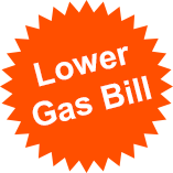 Lower Gas Bill using Precision Plumbing Solutions