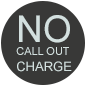 No call out charge in East London, London and Essex